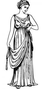 Abbigliamento donna della Magna Grecia