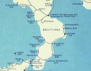 Magna Grecia Mappa